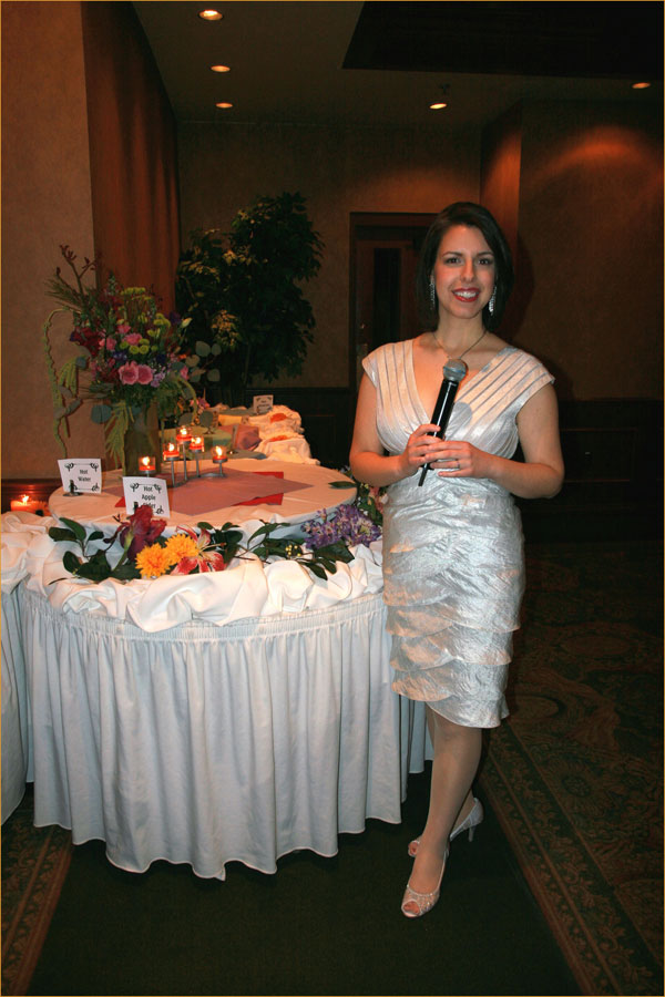 Event Announcer - Kathryn Bracho